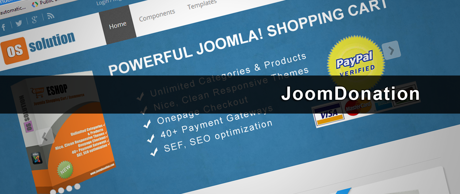 iDEAL voor Joomla & JoomDonation