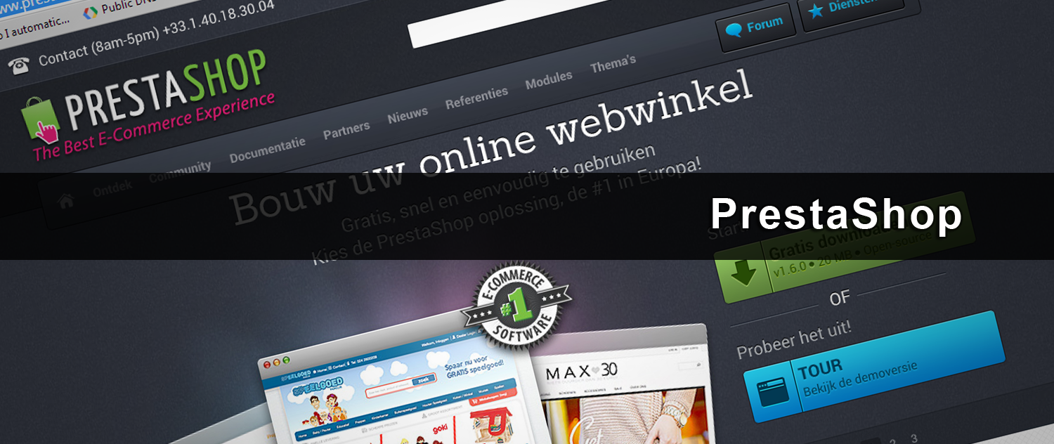 iDEAL voor PrestaShop