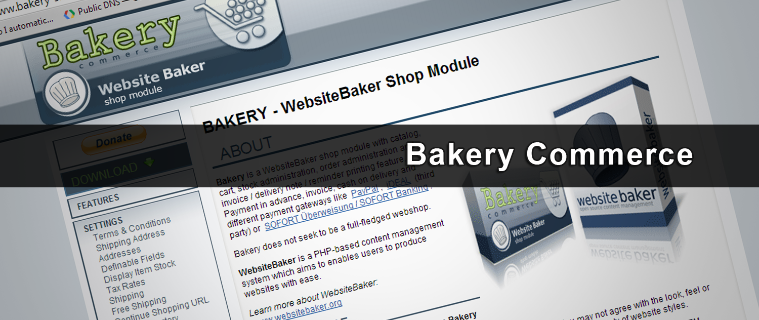 iDEAL voor WebsiteBaker & Bakery Commerce